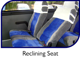 web facilities GL 003 reclining seats